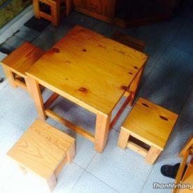 Thanh lý bàn ghế cafe đôn - Thanh lý bàn ghế cafe đôn