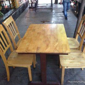 Thanh lý bàn ghế nhà hàng 0591