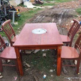 Bàn ghế nướng không khói thanh lý - Bàn ghế nướng không khói thanh lý