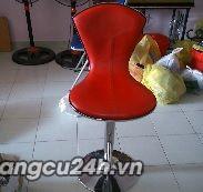 ghế bar đỏ thanh lý