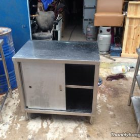 Thanh lý tủ bếp inox 304