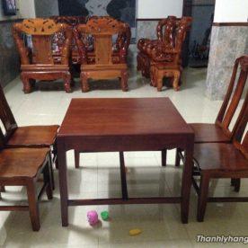Bàn ghế gỗ nhà hàng cao cấp