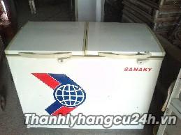 Thanh lý tủ đông SANAKY 400l 2 cánh