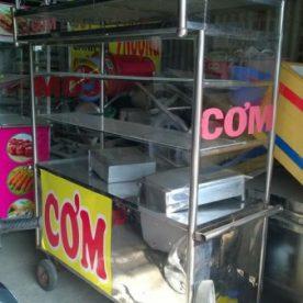 Thanh lý xe đẩy bán đồ ăn