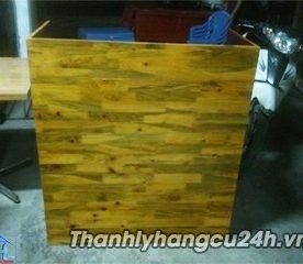 Thanh lý quầy pha chế gỗ