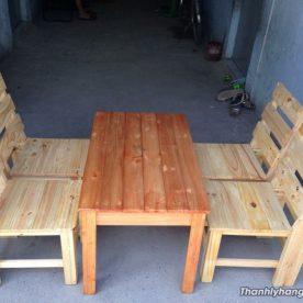 Thanh lý bàn ghế gỗ