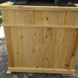 Thanh lý quầy gỗ thông