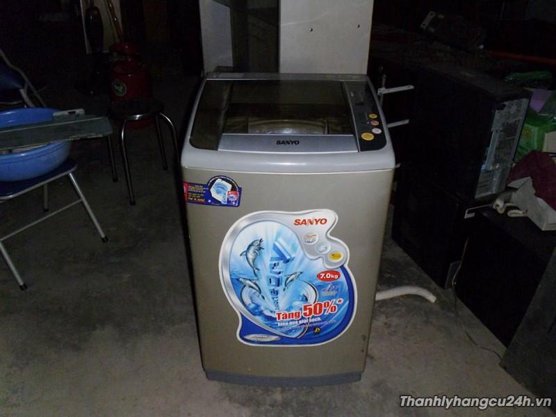 Thanh lý máy giặt Sanyo 7kg mới 90%