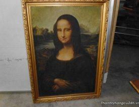 tranh bà Mona Lisa