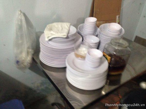 chén đĩa nhựa kiểu