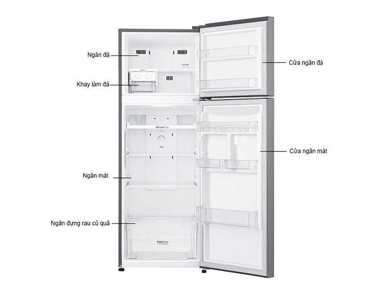Tủ Lạnh LG 315 Lít GN-L315PS.APZPEVN Inverter